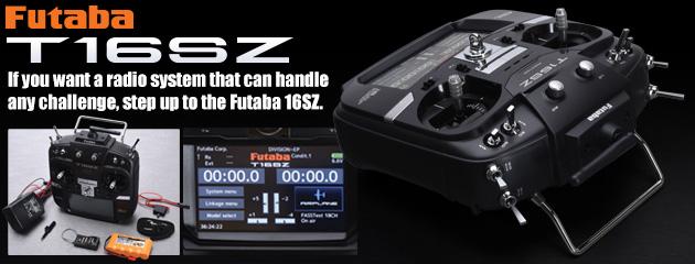 Futaba T16SZ radio